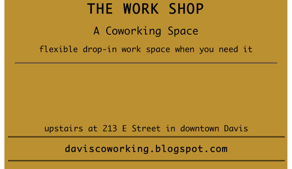 The WorkShop- Davis