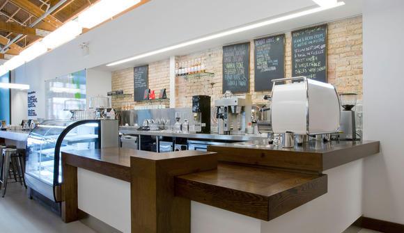 Cafe espresso area