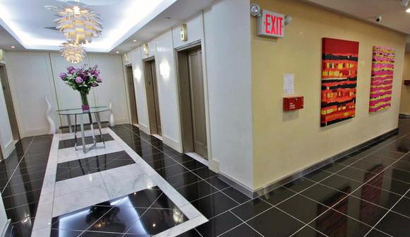 New york office space elevators