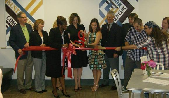 Ribbon cutting 6.7.2013