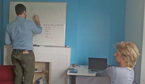 C members brainstorming