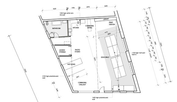 Commune floorplan