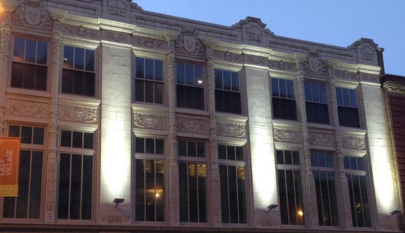 Facade restored