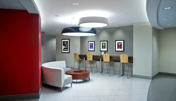 Business lounge lighting seating ii