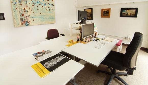 Oakstop workstation desk
