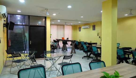 Co working space first floor