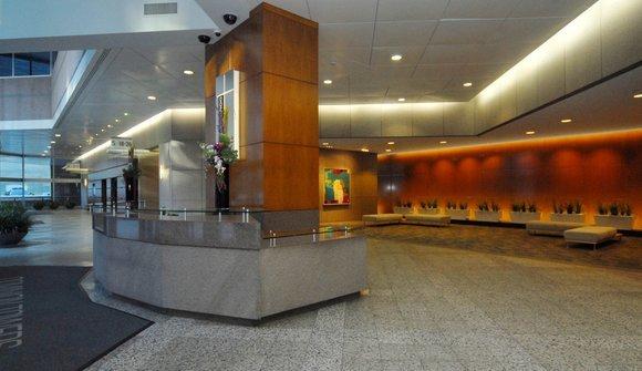 Dominion towers lobby