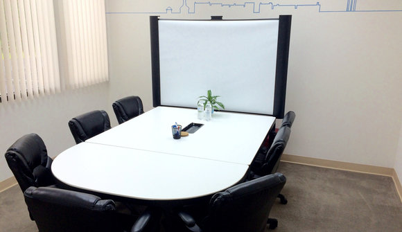 Conference room at fuquay coworking