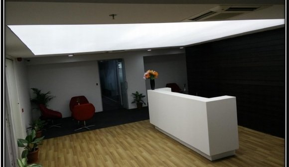 Business center reception