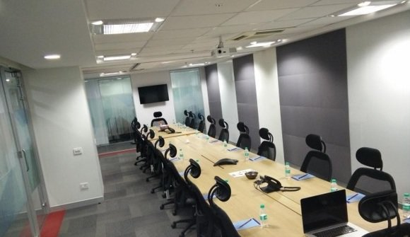 Business center meeting room
