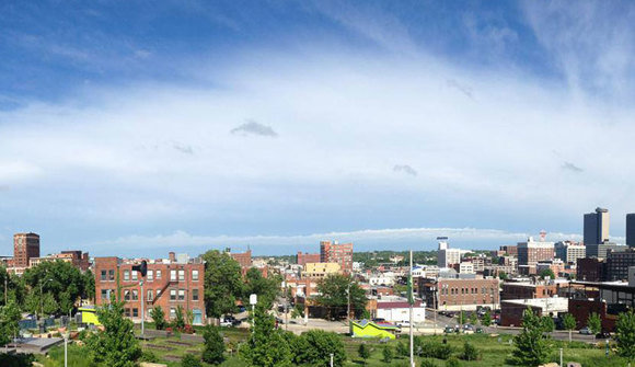 Rooftop pano