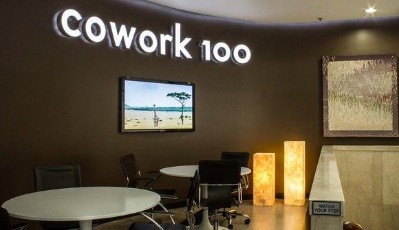 Cowork100 lobby