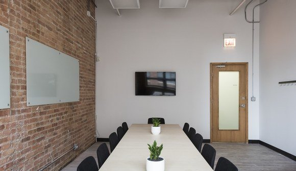 Modern River North Meeting Room