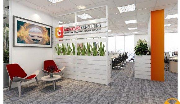 Officeshare innovature reception
