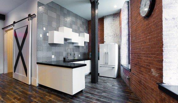 155 water street lounge area