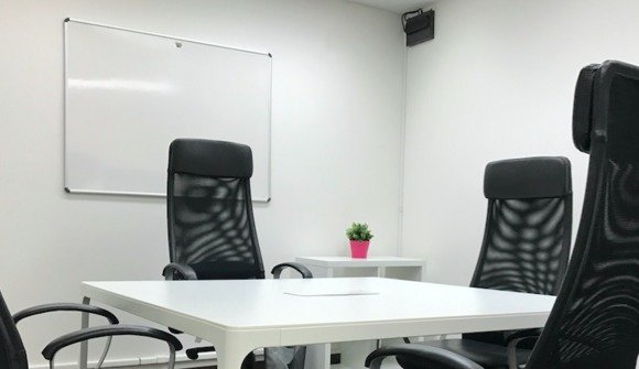 Small private office