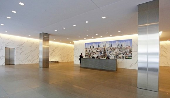 Downtown lobby