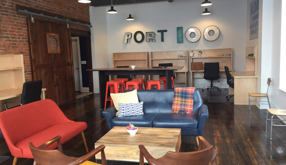 Port 100 cowork front room