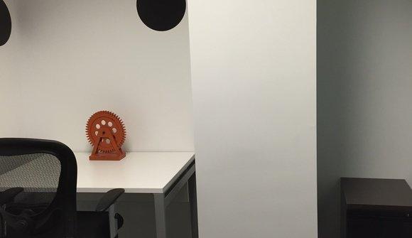 Office 1215.2 workstations.white desks