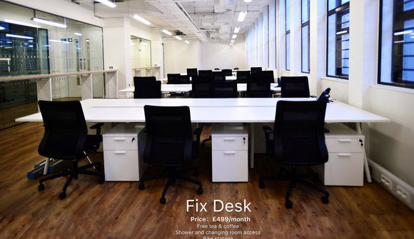 Fix desk poster sample