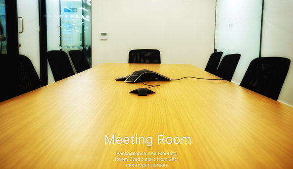 Meeting room poster sample