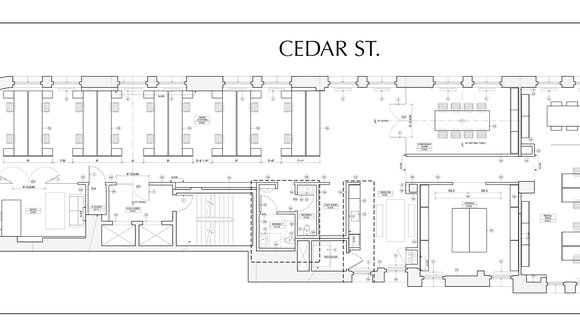 Desk flyer floor plan