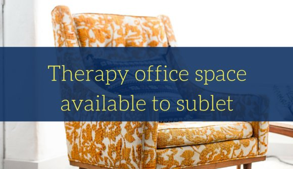 Sublet officespace