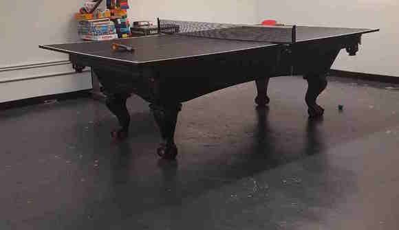 Pingpong pool table