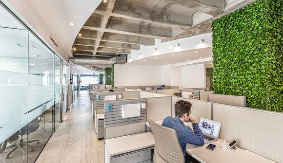 Starthub coworking shared office flex desk mini mini