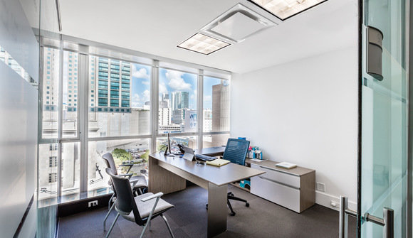 Starthub downtown miami view coworking private office suite mini mini