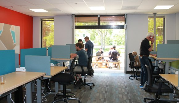 1. coworking space small