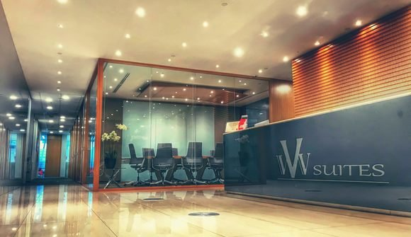 Vvv suites serviced office reception