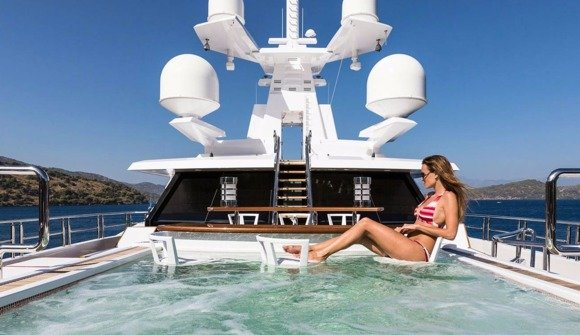 Take a look inside 10 of the most luxurious superyachts on sale at miamis premier yacht show