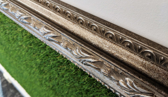 Picture frame astro turf