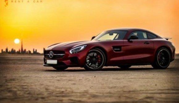 Mercedes amg gt sports car rental