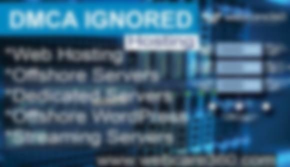 DMCA Ignore Hosting