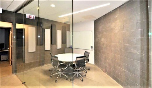 Wicker park office conference room