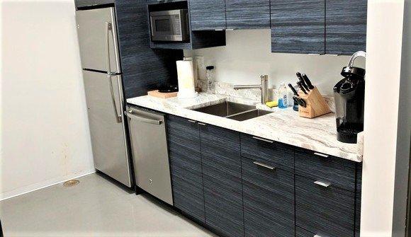 Wicker park office kitchen
