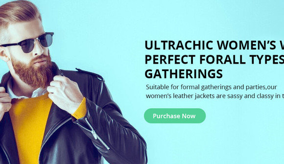 Womens leather jackets for sale