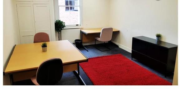 Rivertech office x4 red carpet