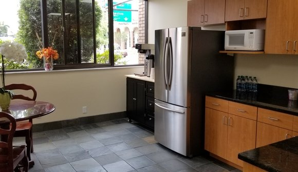 The reserve executive conference center of bradenton kitchen break room
