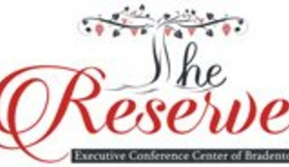 The reserve office suites and conference center of bradenton logo
