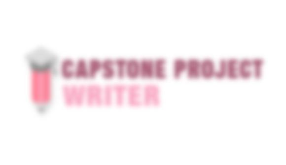 Capstone Project Writer